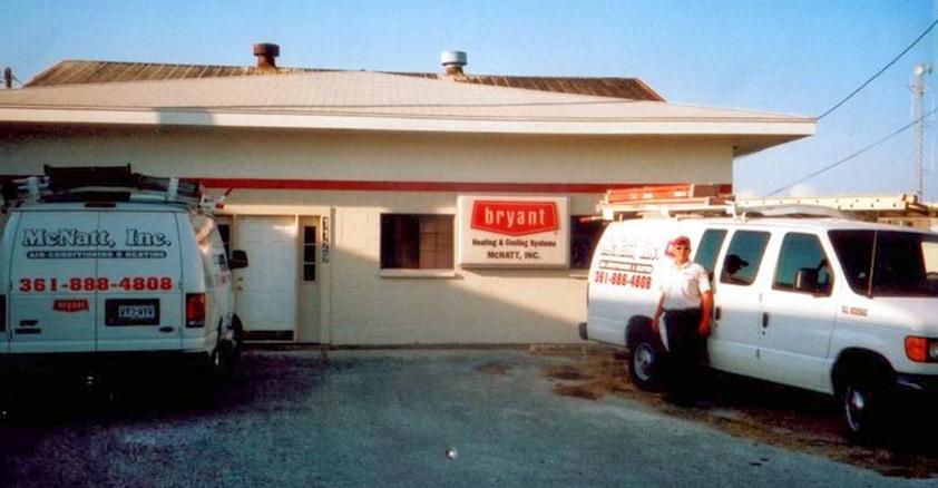 McNatt Original office building